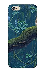 Armandcaron Shock-dirt Proof Nature Trees Jungle Leopards Case Cover Design For Iphone 6 Plus - Best Lovers
