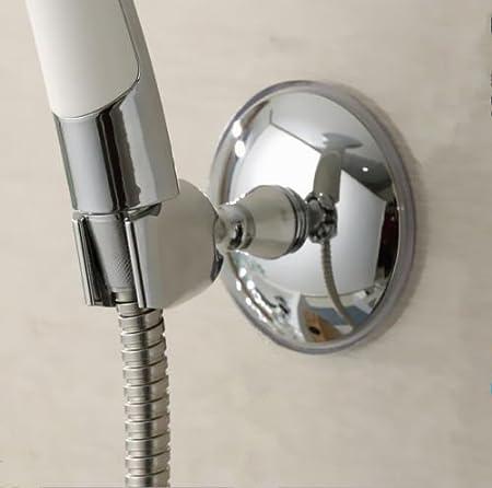 New Wall-Mount Shower Head Stand Bracket Adjustable Elegant Holder For Bathroom