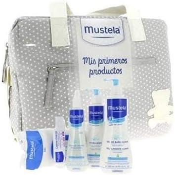 Mustela - Bolsa primeros productos Bebe, Color Azul: Amazon.es ...