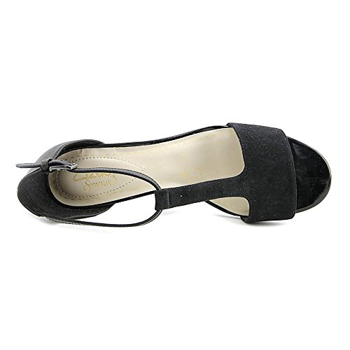 Combination Open Belle Casual Womens Suede CLARKS Toe Sandals T Black Leather Strap Leather Barley wHCqF