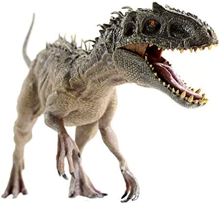 Gemini&Genius Dinosaur World Super Colossal Indominus Rex with Movable Mouth Realistic Tyrannosaurus Rex Figurine Berserker-Rex Christmas and New Year Gift for Kids(Super D-Rex)