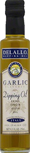 Delallo, Dipping Sauce Garlic, 8.5 OZ (Pack of 12)