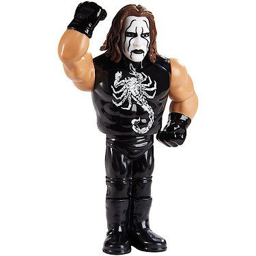 Sting - Mattel WWE Retro Toy Wrestling Figure
