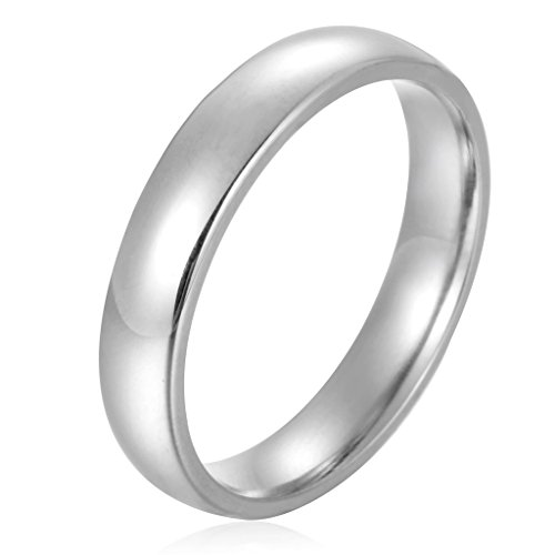 Stainless Steel Womens Wedding Polished