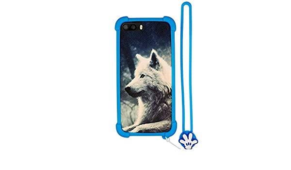 Funda para Klipad Kl456 LD KL456LD Smartphone 5.0 4G LED Funda ...