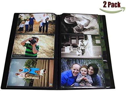 Portfolio Photo Album Holds Pictures