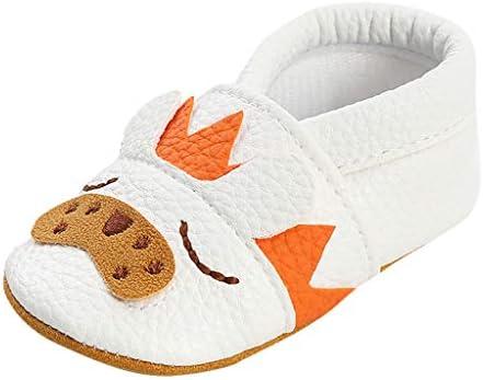 Factorys Chaussures en cuir à semelle souple pour bébé