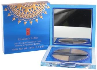 Elizabeth Arden Quad Ember/arena/de color azul/arena castillo color Intrigue Eyeshadow: Amazon.es: Belleza