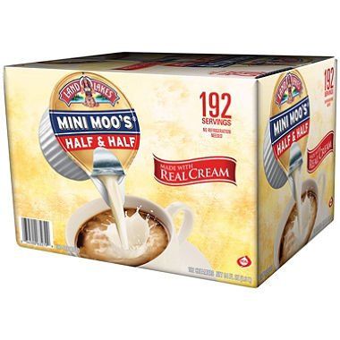 Liquid Creamer Cups - Mini Moo's Half and Half, 192/Carton, Sold as 1 Carton, 192 Each per Carton
