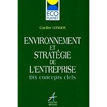 Environnement & stratégie entreprise