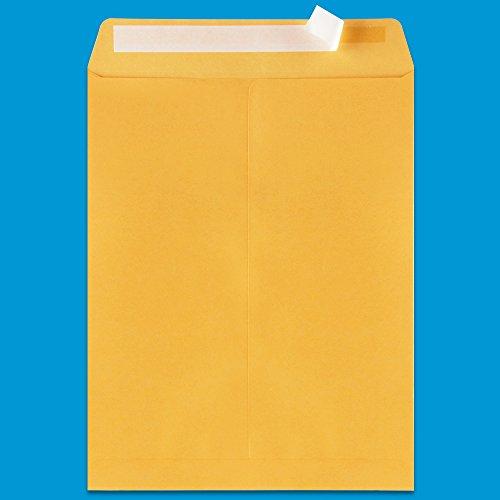 Shiplies Self-Seal Kraft Catalog Envelopes, 10 x 13