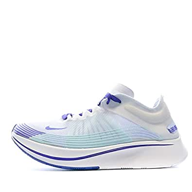 Nike Womens Zoom Fly SP Running Trainers AJ8229 Sneakers Shoes (UK 4 US 6.5 EU 37.5, White Indigo Burst 101) 101