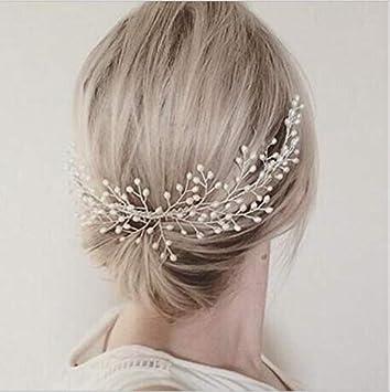 Amazon.com: Cathercing - Peinetas para novia, perlas ...