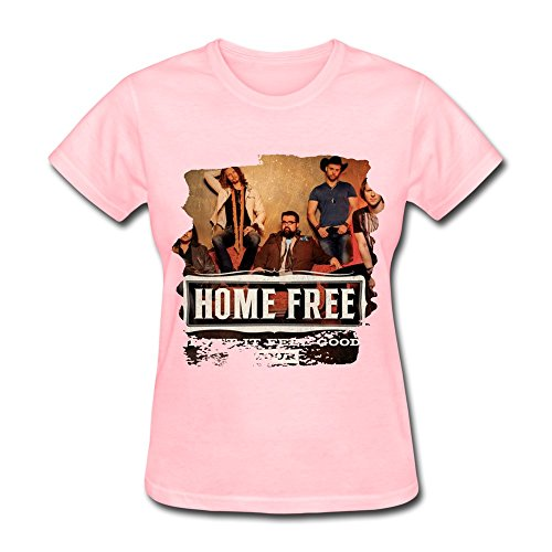 RZF Women's Home Free Album T-Shirt-XL Pink (Free Womens Pink T-shirt)