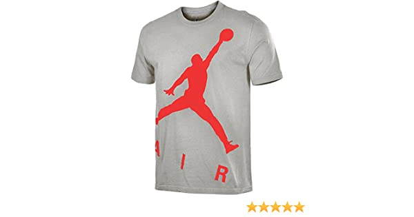 1066be74bfe554 Amazon.com  Nike Jordan Men s Jumbo Jumpman T-Shirt (Large