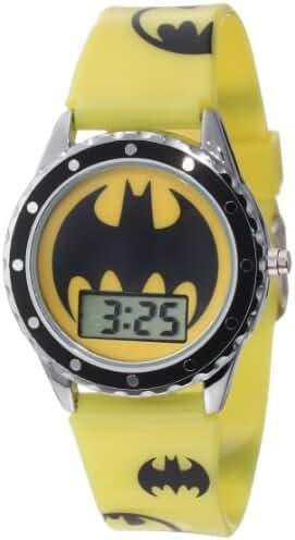 Batman Kids' BAT4071 Batman Watch with Printed Silicone Strap