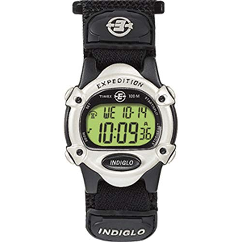 Timex Expedition Women'S Chrono Alarm Timer - Silver/Black ()