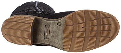 Tamaris 25633, Women's Cold Lined Classic Boots Long Length Black - Schwarz (Black 001)