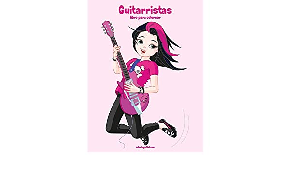 Guitarristas libro para colorear 1: Volume 1: Amazon.es: Snels ...