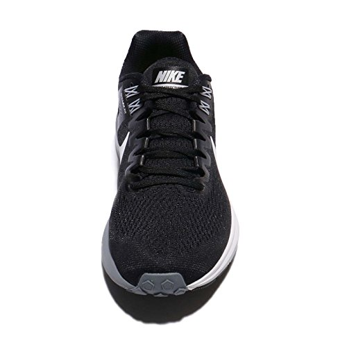 Nike Women's Air Zoom Structure 21 Running Shoe BLACK/WHITE-WOLF GREY-COOL