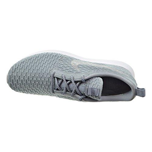 Nike Roshe Nm Flyknit Heren Schoenen Wolf Grijs / Wolf Grijs / Wit 677243-012
