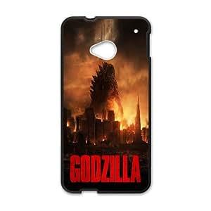 HTC One M7 Cell Phone Case Black_Godzilla 1 Present PP001_2901060