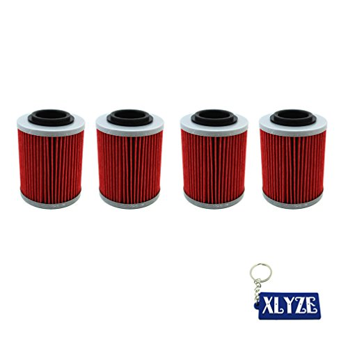 Price comparison product image XLYZE 4x Oil Filter For CAN-AM OUTLANDER RENEGADE 570 450 650 1000 850 500 800R DEFENDER COMMANDER MAX