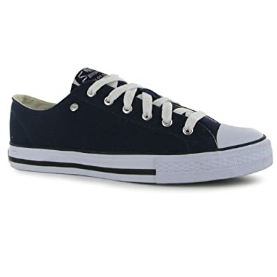 Dunlop Mens Canvas Low Top Trainers[15,Navy]