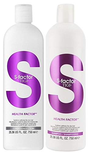 Tigi S Factor Health Factor Shampoo & Conditioner 2 x 750 ml Tigi International Ltd.