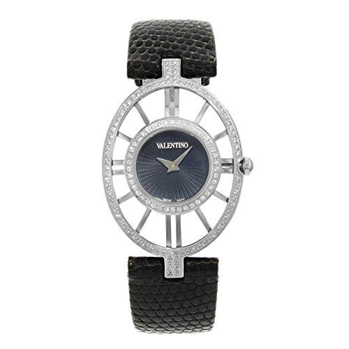 Valentino Vanity Stainless Steel & Diamond Womens Fashion Strap Watch - Watch Mens Valentino