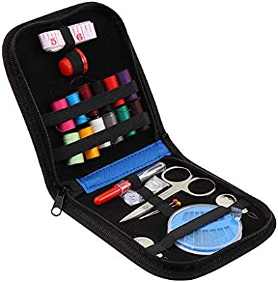 SunTrade Mini Sewing Kit Travel Emergency Sewing Supplies Carrying Case and Accessories