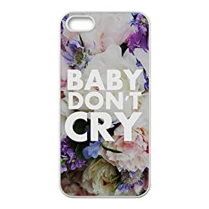 Baby don;t cry flowers personalized high quality cell phone case for Iphone 6 plus 5.5 Kimberly Kurzendoerfer