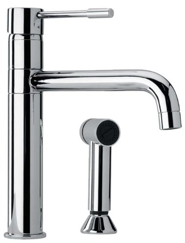 Jewel Faucets 25574 Modern Single Lever Handle Two Hole Kitchen