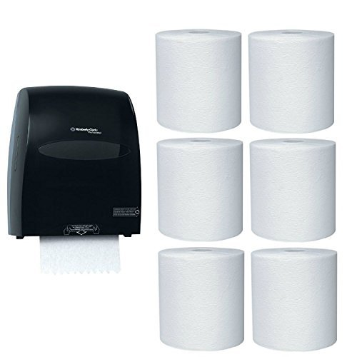 Kimberly-Clark Hard Roll Paper Towel Dispenser with 6-Pack Refill Bundle by Kimberly-Clark Professional (Image #1)