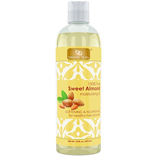 Beauty Aura Pure Sweet Almond Oil (16 Fl Oz)