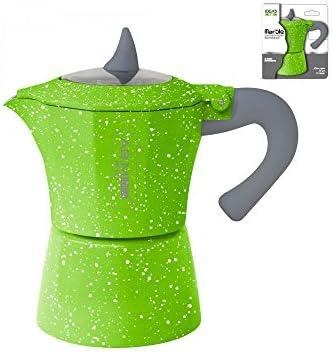 girm® – hx915722 Cafetera Marble Verde – 1 taza – Moka colorata ...