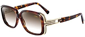 Cazal 8017 Sunglasses 003 Tortoise Gold Brown Gradient Lens