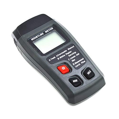 Amazon.com: Medidor de humedad de madera con LCD digital Medidor de humedad de 2 pines Probador del detector de humedad: Home Improvement
