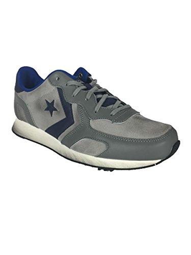 Converse - Zapatillas de Piel para hombre gris