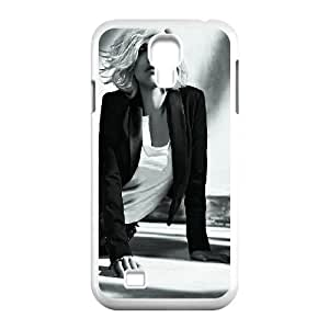 Celebrities Charming Scarlett Johansson Samsung Galaxy S4 9500 Cell Phone Case White Protect your phone BVS_698935