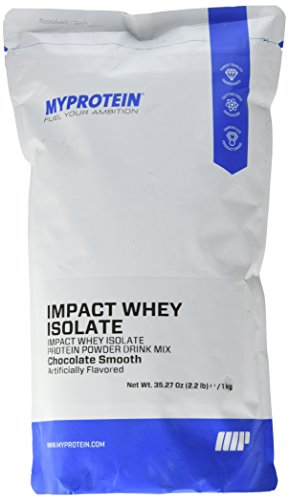 Myprotein Isolate Protein Chocolate Servings