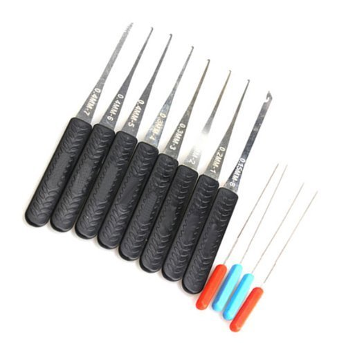 Broken Key Extractor - Lock Broken Key Extractor Remove Removal Hooks Needle Locksmith Tool Set