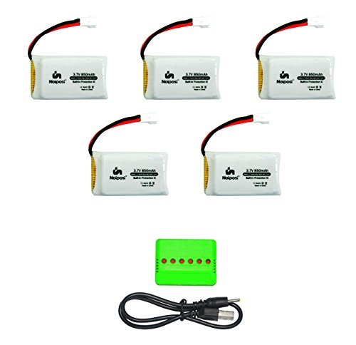 Noiposi Upgrade Rechargeable Battery Quadcopter