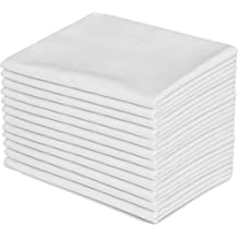 12 Pillowcases - Queen White – Brushed Microfiber - Maximum Softness - Elegant Double-Stitched Tailoring - Reduces Allergies and Respiratory Irritation - Set of Dozen Pillowcases - by Utopia Bedding