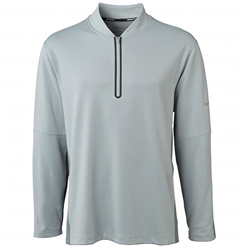 Nike Men's Dri-Fit Wool Tech Cover-Up - Medium - Light Magnet Grey