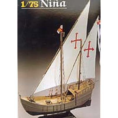 Heller Christopher Columbus' Nina Boat Model Building Kit: Toys & Games