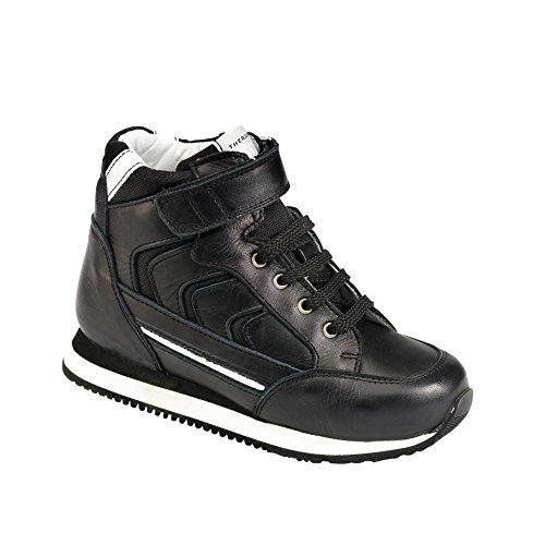 Piedro Piedro Sports Boots - Stability Stiffener, Bottes pour Fille - noir - cuir noir, 26
