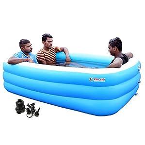 Cho-Cho ® Inflatable Swimming Pool for Kids and Adults (Spa) Jumbo Bath Tub 6.5 Feet
