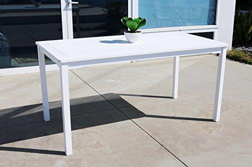 Rectangular Bar Height Umbrella Table (Vifah V1336 Bradley Outdoor Wood Rectangular Dining)