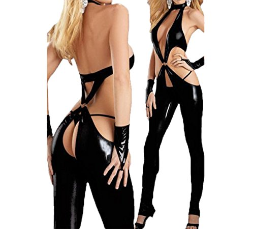 Sexy Catsuit Dancers Dance Clothes Disco Nightclub Clothing Cosplay Jumpsuits (M) (Sexy Gay Halloween Costumes)